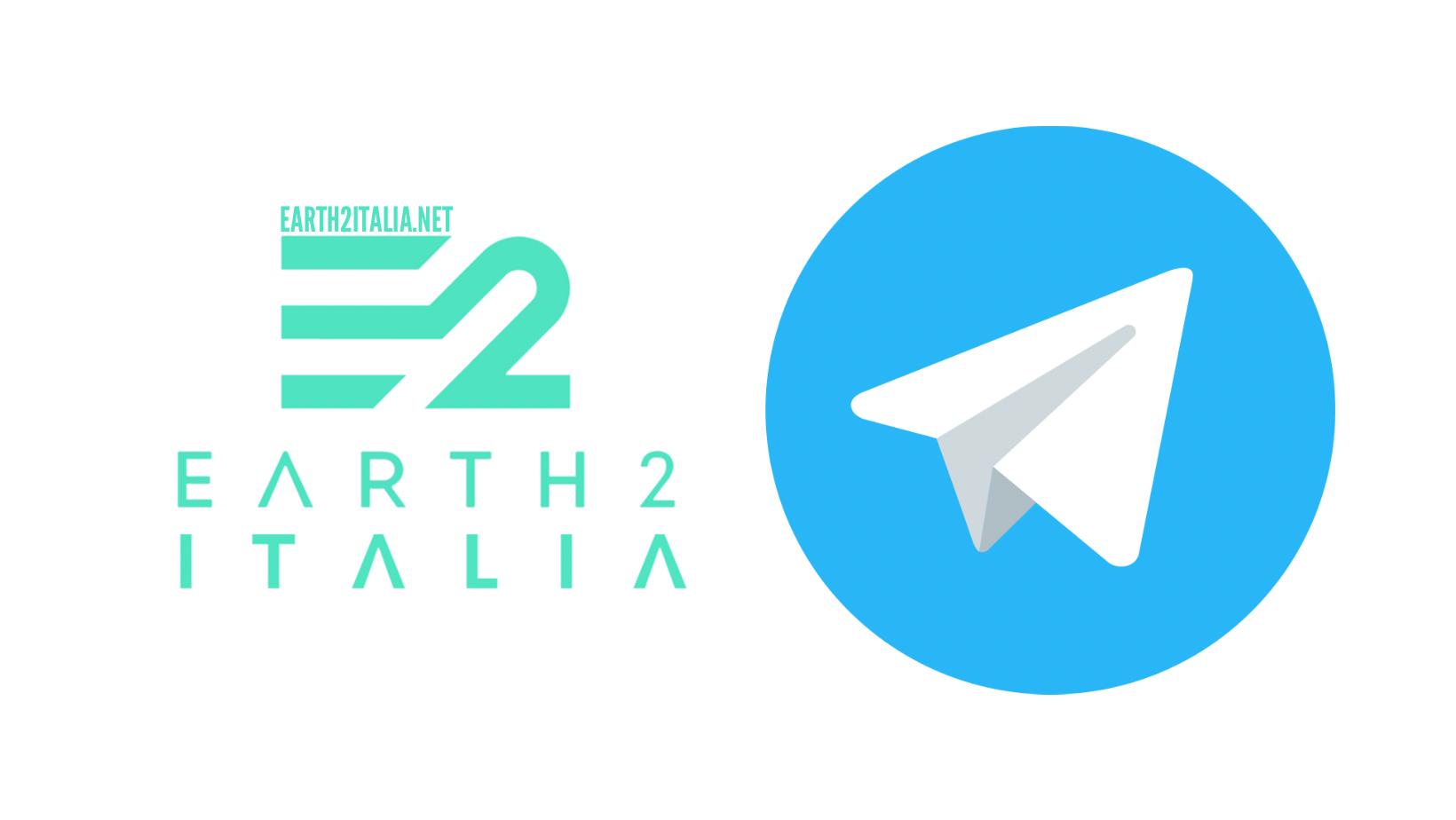 Earth 2 italia telegram - earth2italia.net